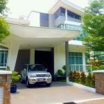 開発が進むラワンに佇む一軒家(バンガロー)住宅