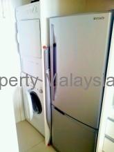 洗濯機、乾燥機、冷蔵庫他、目に見える家具はほぼ新品です