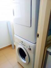 日本人オーナー ソラリスデュタマス 2ベッド+1 洗濯機、乾燥機ともに完備