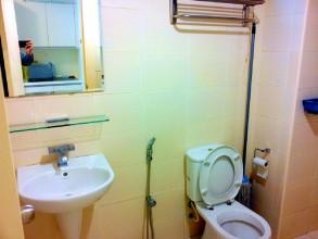 ソラリスデュタマスワンルーム studio バスルームです