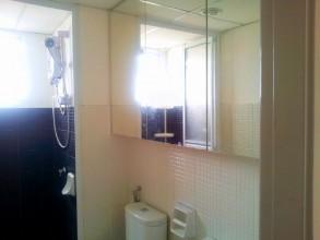 アクシスレジデンス特選綺麗なお部屋 バスルーム収納もあり