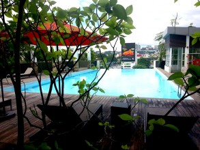 【バンサー駅徒歩、広めワンベッドルーム】ガヤバンサー コンドミニアム - Gaya Bangsar Condominium (16)