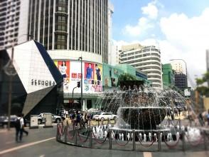 KLCCブキビンタンエリア パビリオン前広場